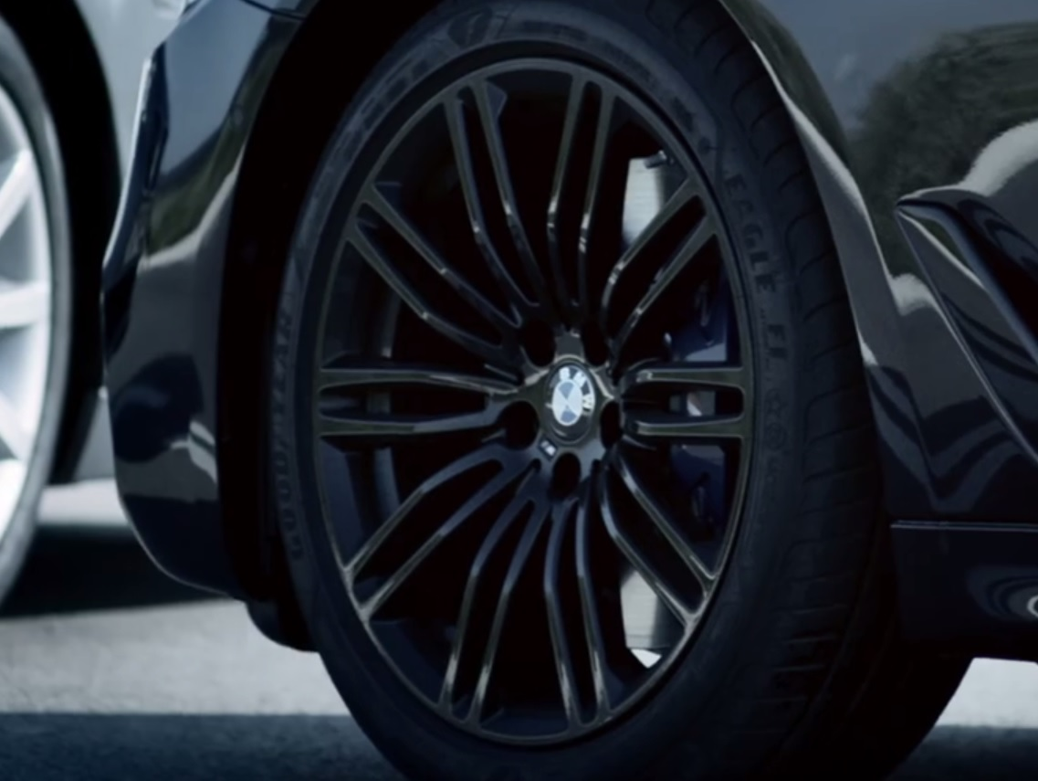 m sport 5 series g30 partially shown in latest teaser