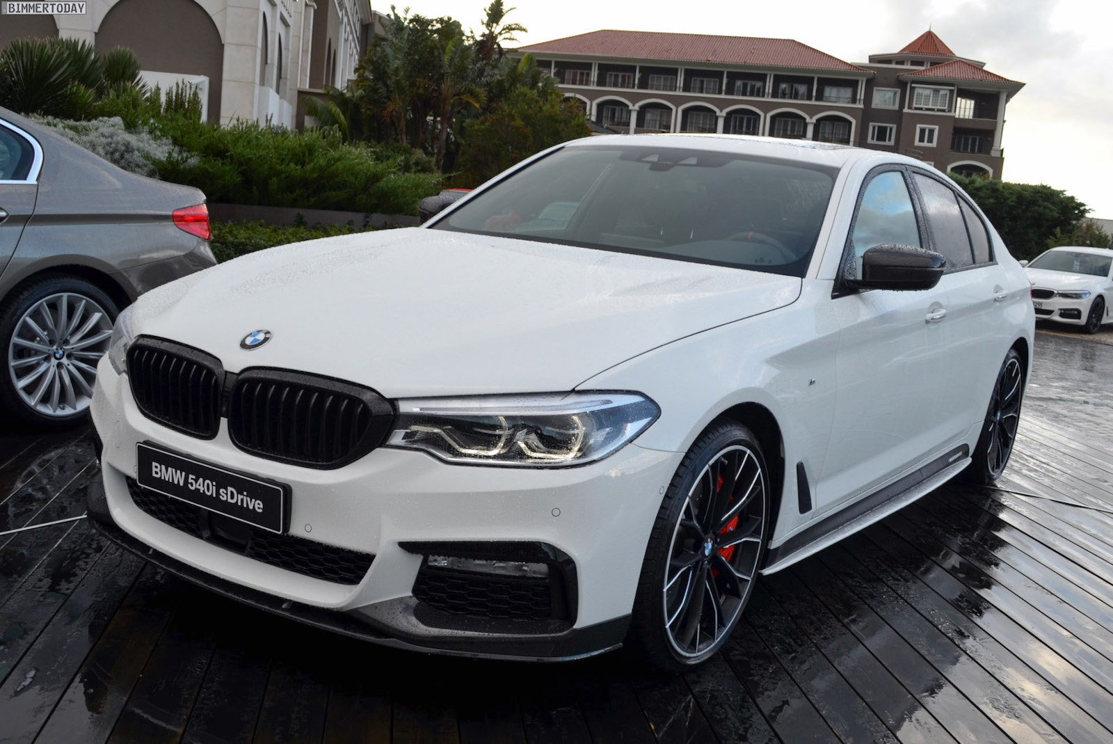 From bimmertoday are more live photos from the m performance parts