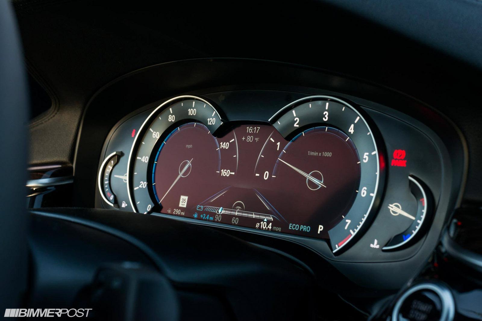 full digital gauges for 2018? - BMW 5-Series Forum (G30)
