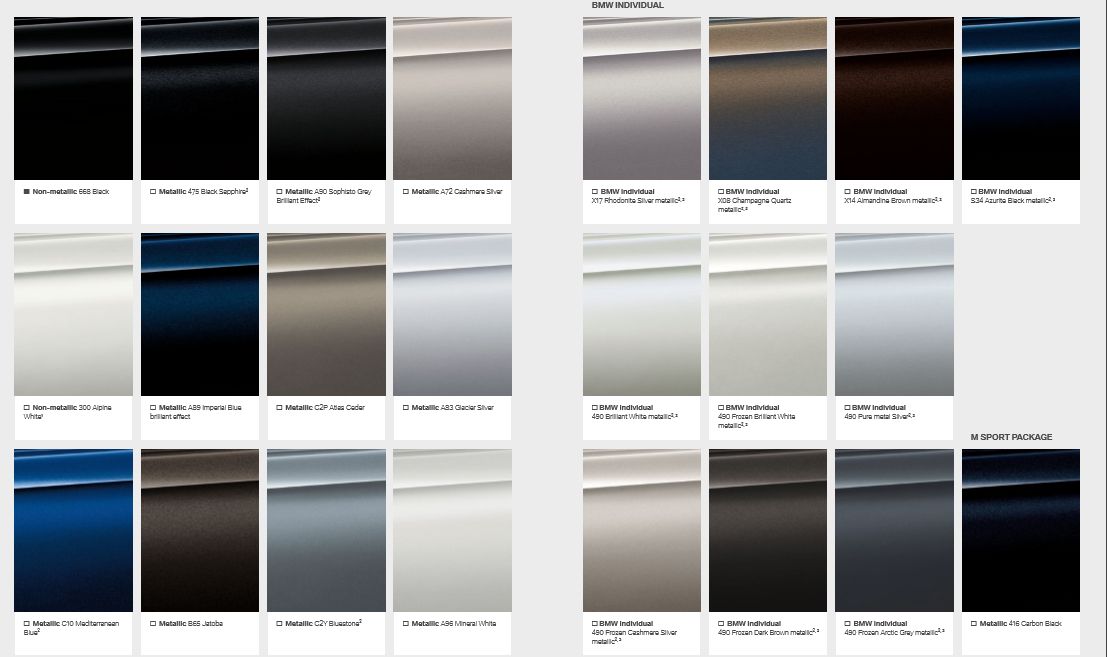Individual Colours Shocking Choices Bmw 5 Series Forum G30