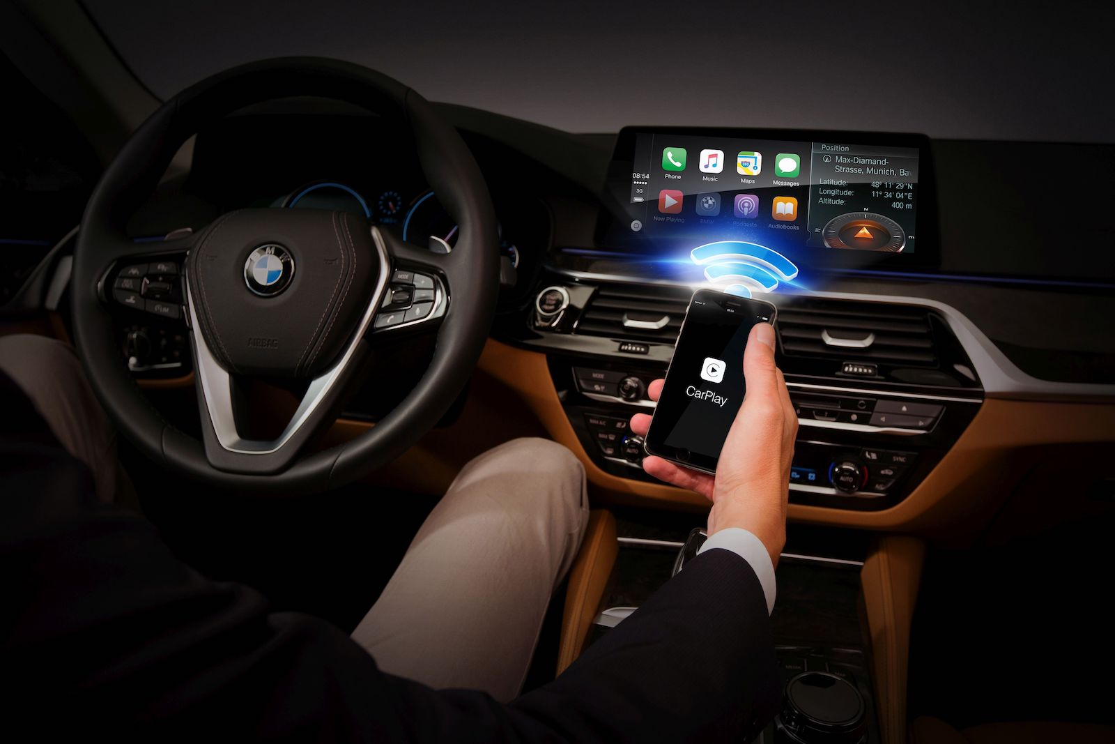 who made the first iphone harman to offer wireless apple carplay beginning 18249