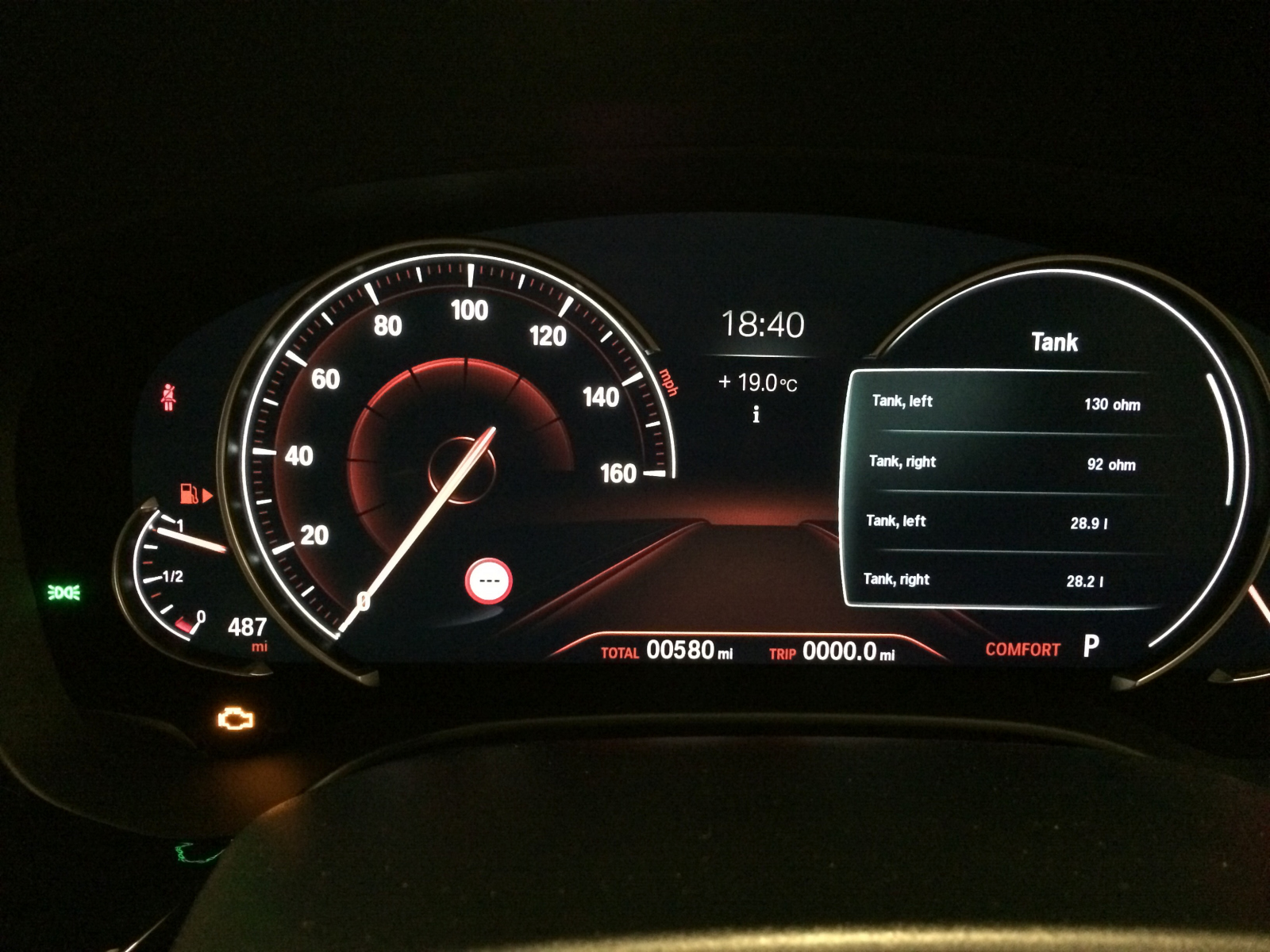 Instrument Cluster tests - pictures - BMW 5-Series Forum (G30)