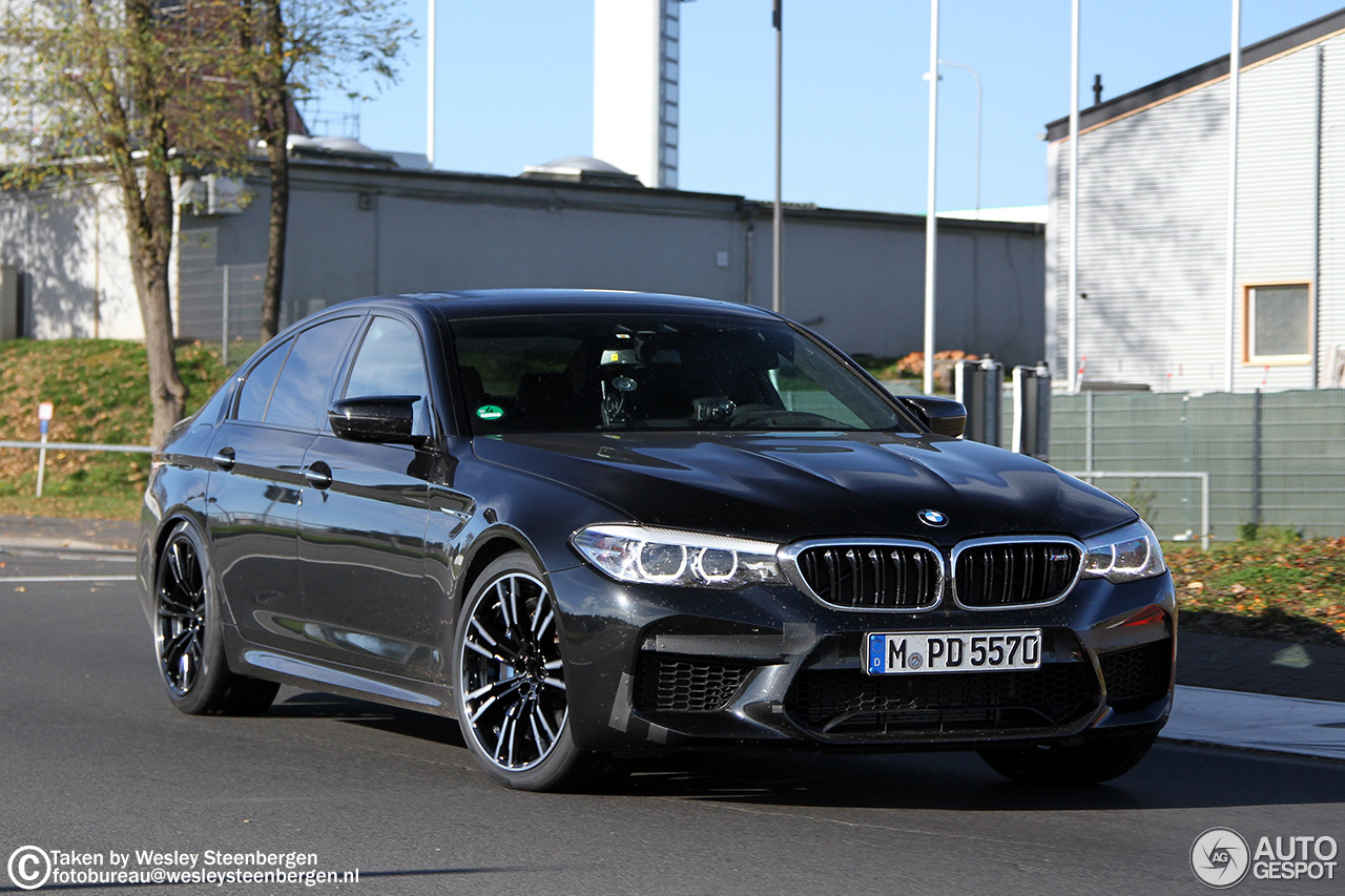 F90 2018 Bmw M5 Officially Unveiled With 600 Horsepower From A 4 4 Liter Twin Turbo V8 And