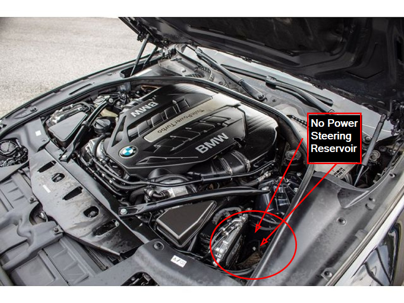Where Is The Power Steering Fluid Resevior Bmw 5 Series Forum G30