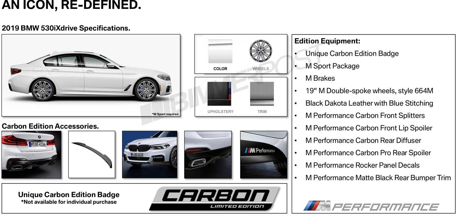 Name:  G30 5 Series Carbon Edition2.jpg Views: 10093 Size:  212.2 KB