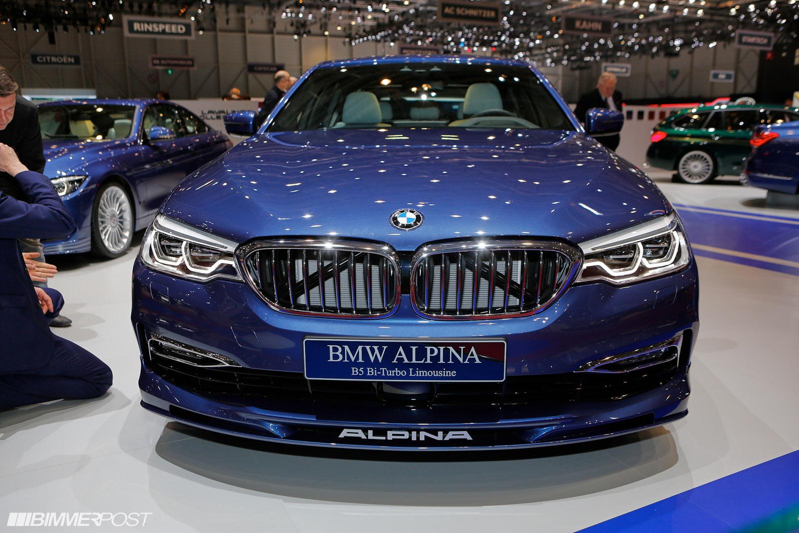 Alpina B HP Kmh Sec Introduced At Geneva - Bmw alpina b5 price